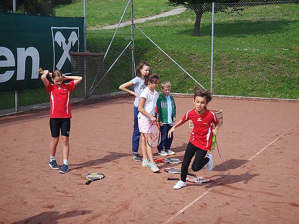 Kinder-Tennistraining 2013