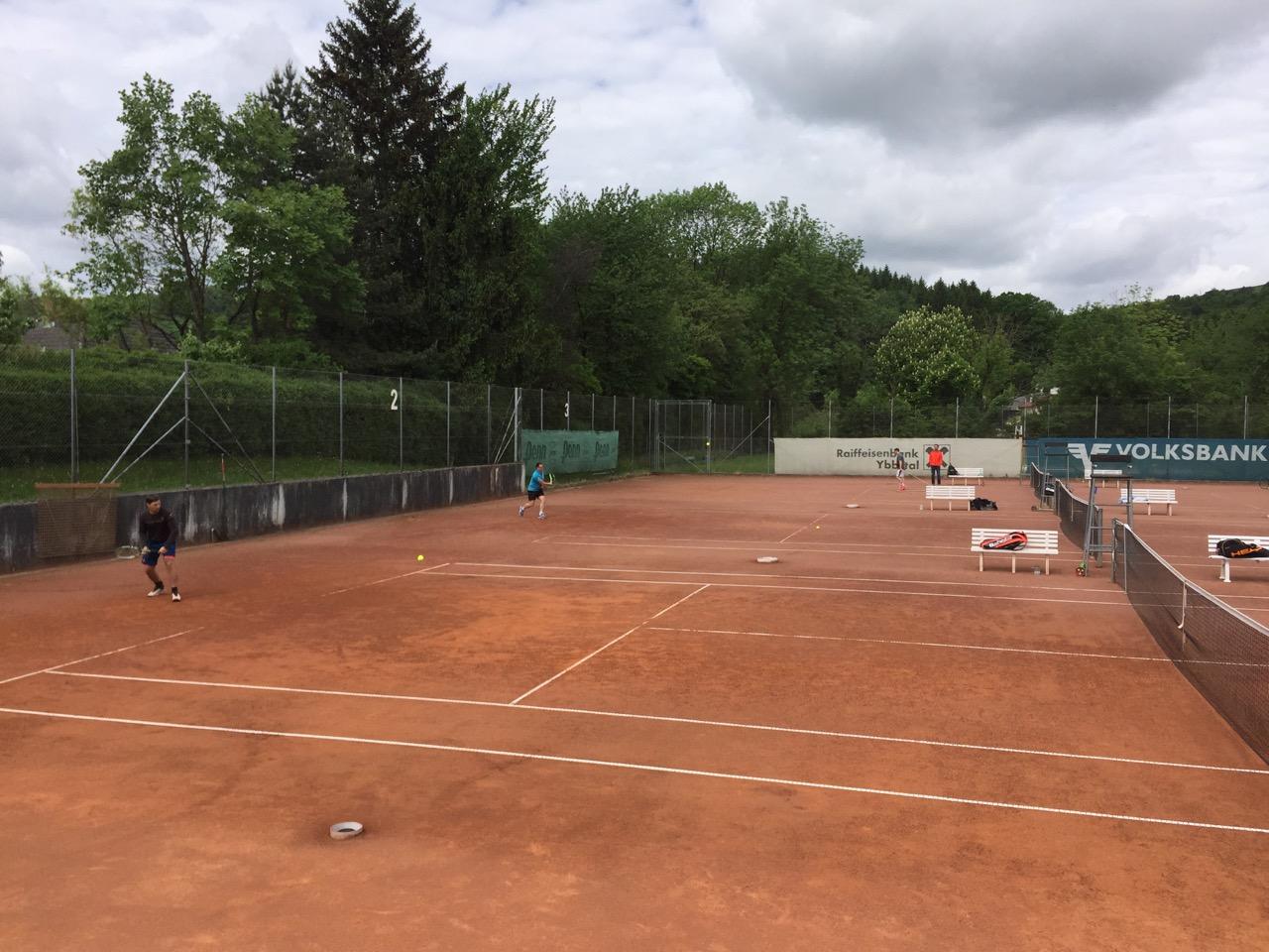 erster punkt beim tennis